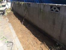 大阪府和泉市 外構工事施工前