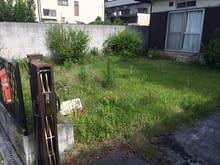 大阪市平野区T様外構工事施工前