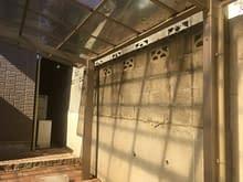 阿倍野区 外壁ブロック フェンス工事施工前