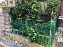 坪庭工事 大阪市 大正区 N様邸施工前