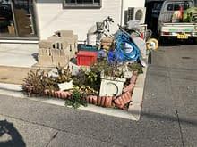 大阪市浪速区 ガレージ リフォーム工事施工前