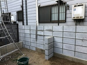大阪市阿倍野区 N様 フェンス工事 エクステリア工事の画像
