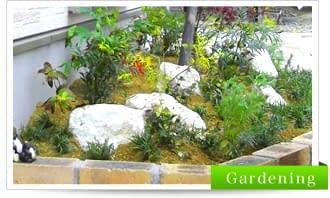 癒される和の坪庭