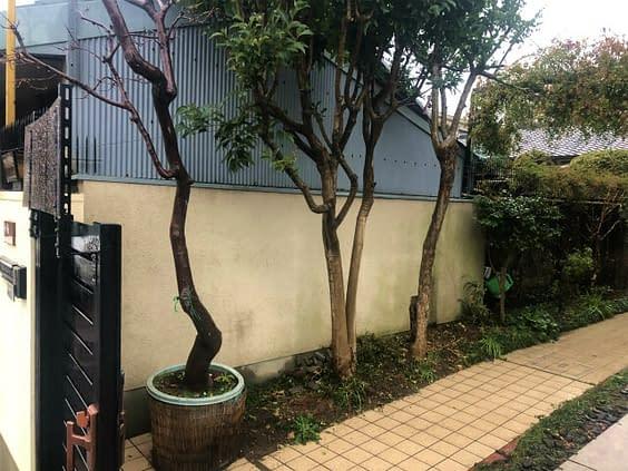 大阪市住吉区 K様邸 ガレージ改修工事 カーポート設置工事