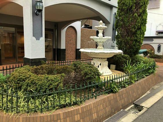 大阪市阿倍野区 マンション ナチュラルガーデン施工 植栽工事施工前