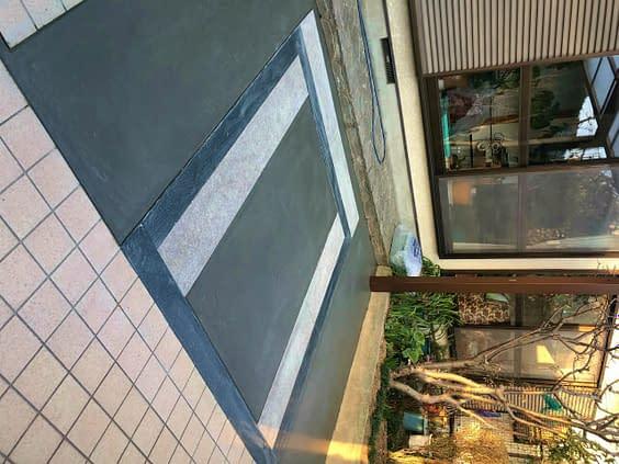大阪市住吉区 K様邸 ガレージ改修工事 カーポート設置工事施工後