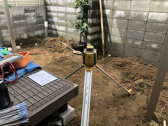 大阪市都島区 庭工事 植栽