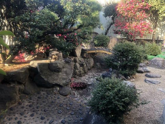 大阪市平野区 B様邸 庭リフォーム工事 庭木剪定施工前