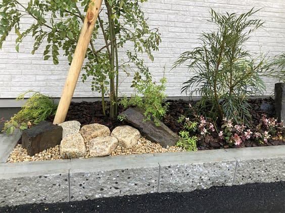 京都市伏見区 H会社様 色彩花壇施工