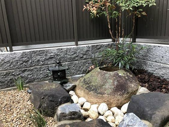 枯山水の庭づくり
